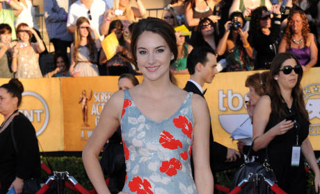 Shailene Woodley at SAG Awards