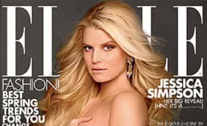 Jessica Simpson Elle Cover: Too Hot For Safeway!