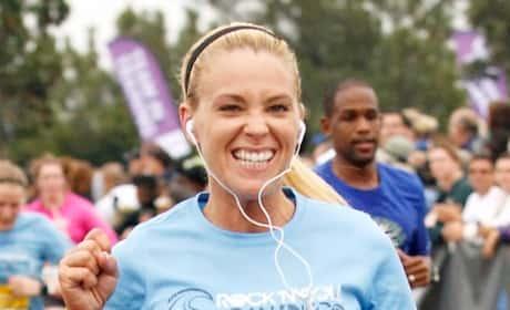 Kate Gosselin Running