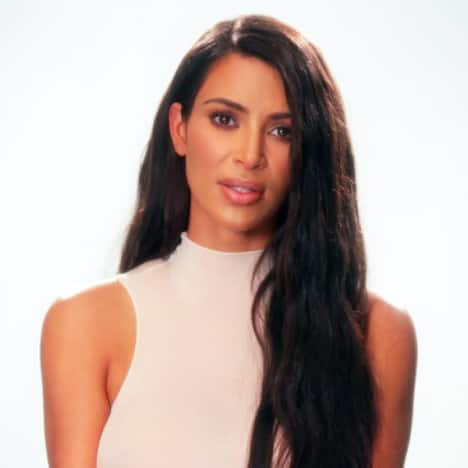 Kim Kardashian on Camera