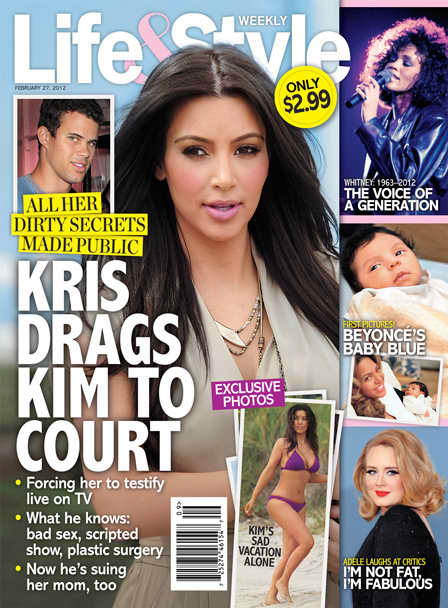 Court for Kim Kardashian?