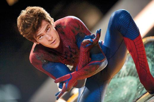 Andrew Garfield as Spiderman
