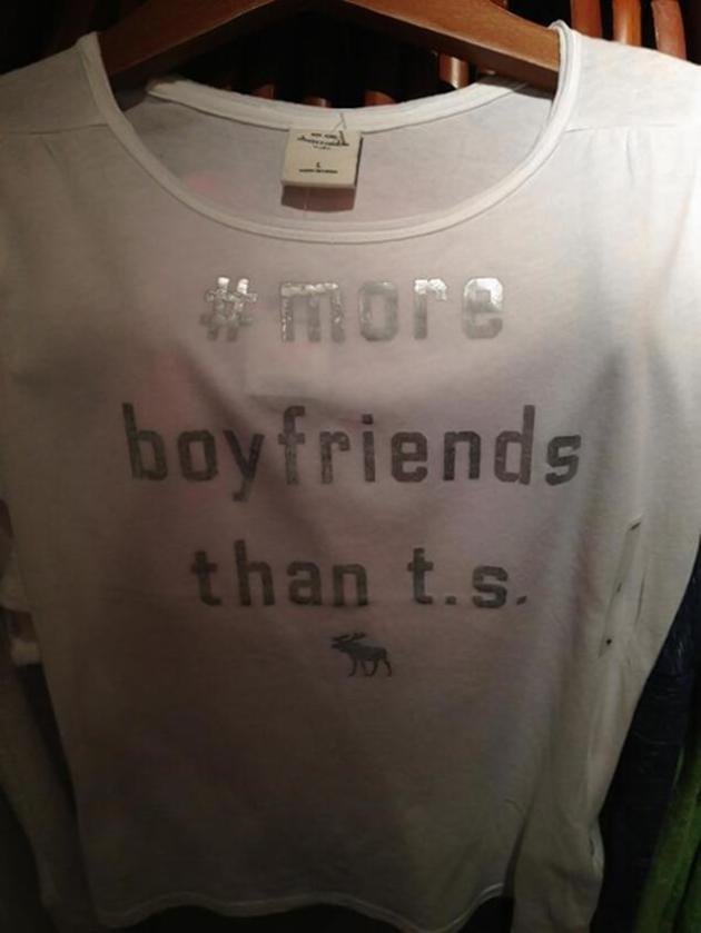 Abercrombie Taylor Swift Shirt