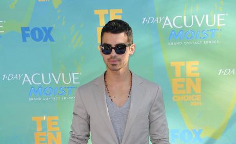 Joe Jonas at the TCAs