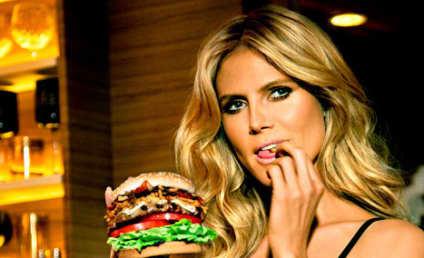 Heidi Klum Carl's Jr. Ad: YUM!