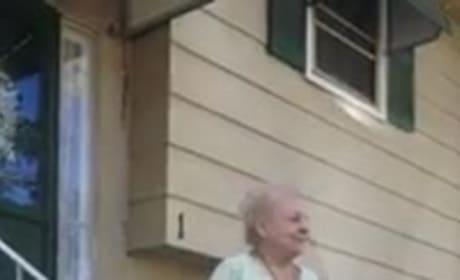 Grandma Dances to Car
