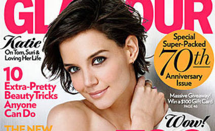 Katie Holmes Opens Up to Glamour