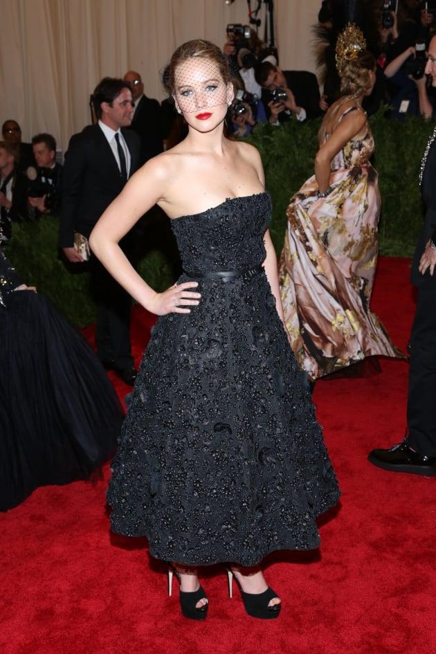 Jennifer Lawrence MET Gala Fashion