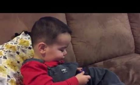 Hysterical Baby Can Only Be Soothed by Adele