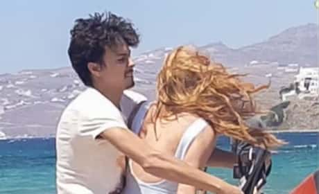 Lindsay Lohan & Egor Tarabasov: Physical FIGHT Caught on Video! WATCH!