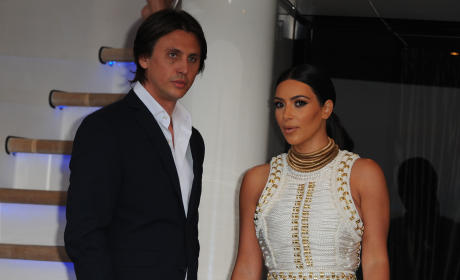 Jonathan Cheban and Kim Kardashian: MailOnline's Yacht Party