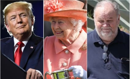 Meghan Markle's Dad Is PISSED That Trump Gets to Meet the Queen!