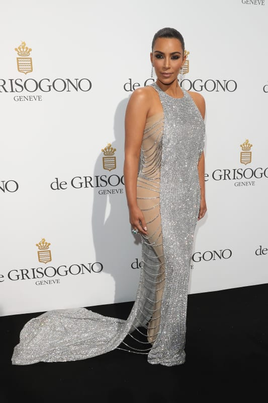 Kim kardashian 2016 de grisogono party at cannes