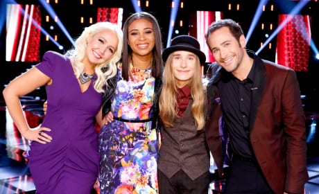 The Voice Top Four
