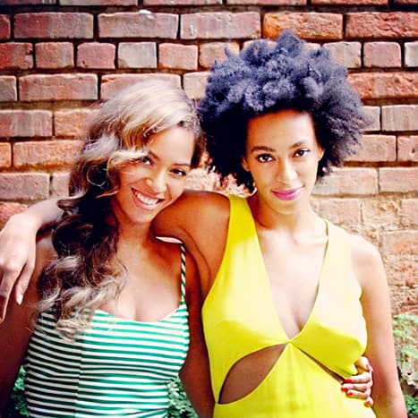 Beyonce with Solange