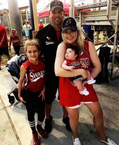Jamie Lynn Spears, Maddie Aldridge, Jamie Watson, and Baby Ivey Joan