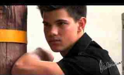 Taylor Lautner Dishes on Twilight Experience, Looks Hot