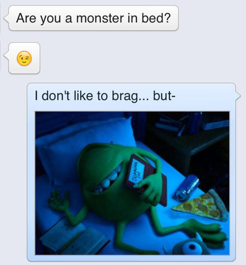 A Monster in Bed