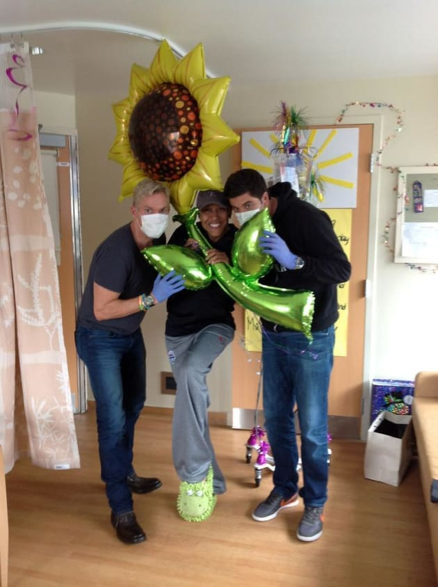 Sam Champion, Robin Roberts and Josh Elliott