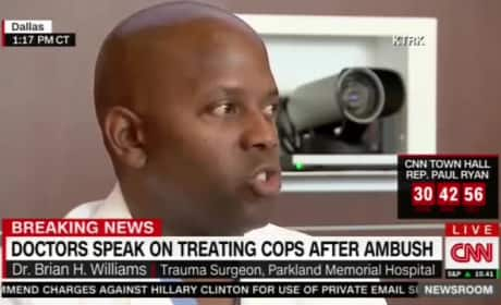 Dr. Brian Williams on Dallas Police Shootings