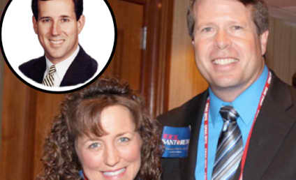 "Jim Bob & Michelle Duggar: Rick Santorum is ""Man of God"" to Lead the United States"