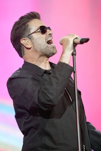 George Michael in London