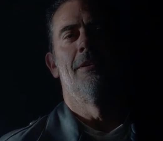Negan on Season 8