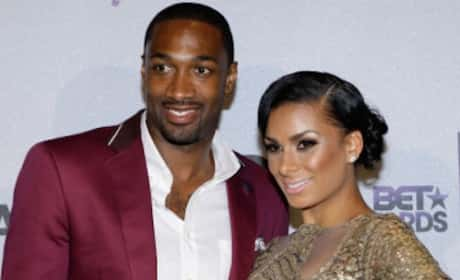 Gilbert Arenas Smashes Laura Govan's Car with Cinderblock