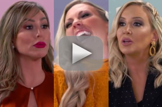 The real housewives of orange county scrapping what was filmed p