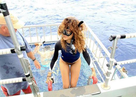 Rihanna Swimsuit Pic