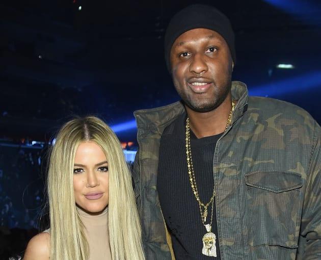 Lamar with Khloe