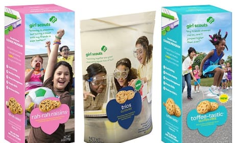 New Girl Scout Cookies