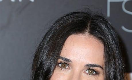 Demi Moore Smiles