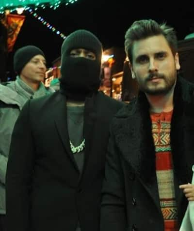 Kanye West and Scott Disick Photo