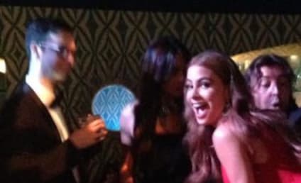 Sofia Vergara: Twerking, Eating at Emmys After-Party