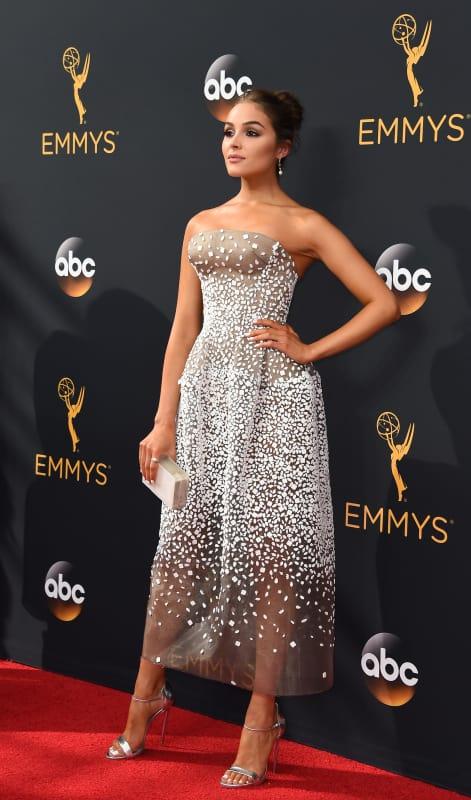 Olivia Culpo at the Emmys