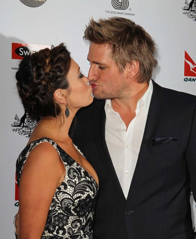 Curtis Stone and Lindsay Price