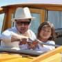 Brad Pitt Pax Jolie-Pitt Venice 2006