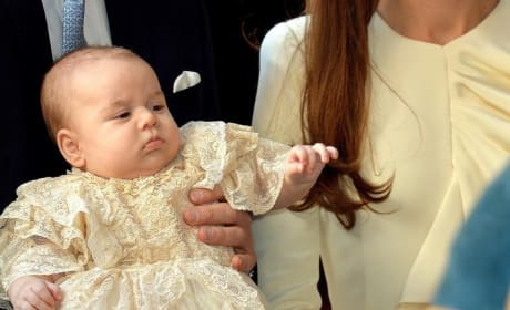 Prince George Christened