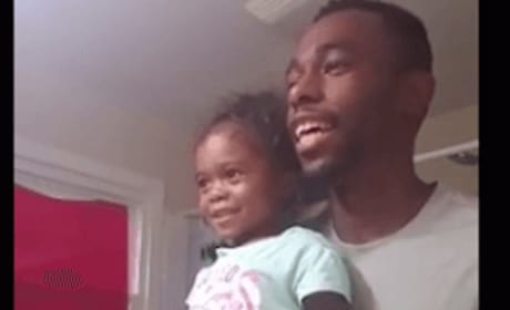 Dad and Daughter Share Morning Affirmation, Set Example for Entire Internet