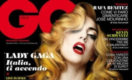 Lady Gaga in Italian GQ: She's On Fire!