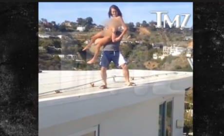 Dan Bilzerian Tosses Porn Star Off Roof