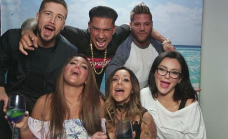 Jersey Shore Cast Drinking