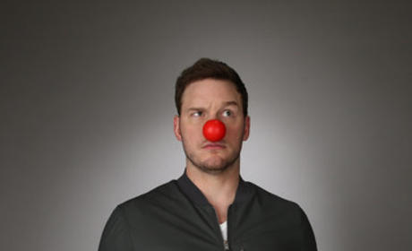 Chris Pratt Red Nose Picture