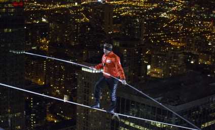 Nik Wallenda Walks Tightrope Between Chicago Skyscrapers, Lives to Tell About It
