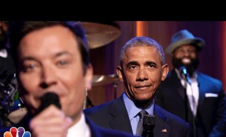 Barack Obama Slow Jams the News