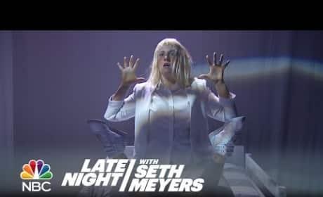 Lena Dunham Dances to Sia