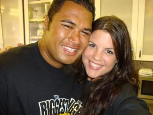Sam Poueu and Stephanie Anderson