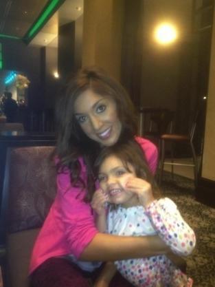 Farrah Abraham and Daughter Photo