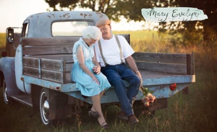 Couple Celebrates 57 Years of Marriage with Notebook-Inspired Photo Shoot